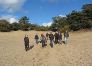 met de gps door de Loonse en Drunense duinen