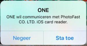 iphone apple one photofast