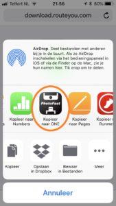 app keuze iphone