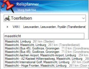 BaseCamp reisplanner